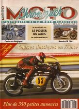 CHRONIQUES MOTO 56 HONDA CR 750 ( CB 750 Four ) MASERATI  Louis GYSLER ULTIMA