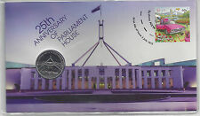 Australia FDC 2013 25th Anniversary of Parliament House  PNC
