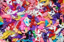 Neu 100 Paar Schuhe für Barbie Puppe (34 style)  Barby