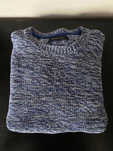 Mens Selected Homme Blue Long Sleeve Sweatshirt - Medium