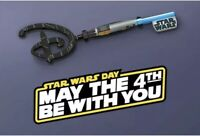 Star Wars May The 4th Be With You Disney Key - In Hand