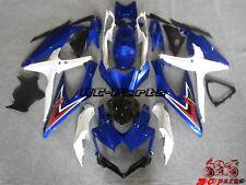 Carrosserie carénage Fairing Injecté Pour Suzuki GSXR 600 750 K8 08-10 2009 K7