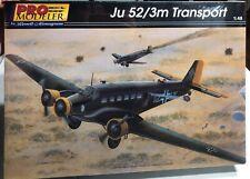 Pro Modeler Ju 52/3m Transport 1/48 NEW FS Model Kit 'Sullys Hobbies'