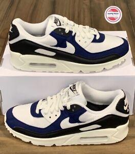 Nike Air Max 90 ID Nike By You Blue/Sail/Black Men's Sz 8.5 CT3621-991 No-Lid