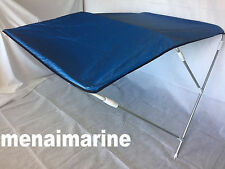 RIB / BOAT BIMINI CANOPIES WITH OVERALL COVER ADJUSTABLE WIDTH  200cm to 220cm