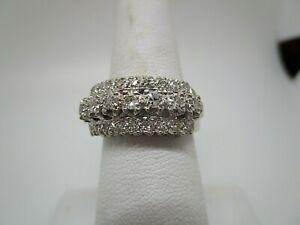 Ladies antique style  14K and Diamond Ring  .85 tcw