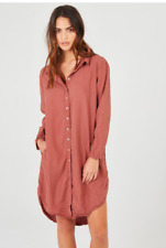 PRIMNESS Mel's shirt dress size 3/12-14  RRP $430 NWT Bargain buy!