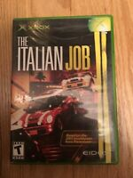THE ITALIAN JOB - XBOX - WORKS ON 360 - COMPLETE W/MANUAL - FREE S/H (M)