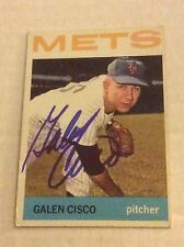 1964 Topps 202 Galen Cisco Autographed Auto Signed Card