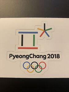 "2018 Winter Olympic Games PyeongChang South Korea Sticker 2.8"" x 2.7"""