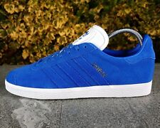 BNWB & Genuine adidas originals ® Gazelle Blue Nubuck Upper Trainers UK Size 9