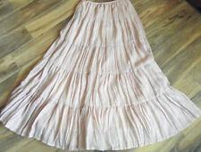 Peasant, Boho Mid-Calf Machine Washable Skirts for Women