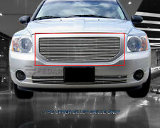 Polished Billet Grille Front Upper Grill For Dodge Caliber 2006-2012