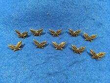Lot of 10 1970's Vintage Army Air Assault Badge Pins