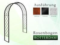 Rosenbogen ROTTERDAM 1,40 Rankhilfe Metall Rund Gartenbogen La Pergola Rozenboog