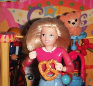 Dollhouse Rement Carnival Accessories Soft Pretzel with Salt Snack Food