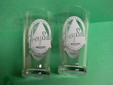 2 GREY SAIL NAUTICAL SAILBOAT BEER PINT GLASSES WESTERLY RHODE ISLAND