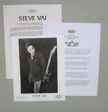 Steve Vai Original Press Kit Photo