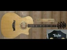 Taylor Custom BTO GA AA Walnut/Engelmann Spruce (Acoustic/Electric With Cutaway)