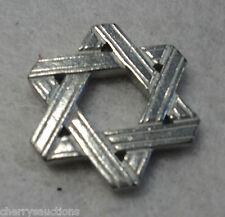 STAR OF DAVID POCKET TOKEN Passover charm lucky coin pewter bar bat mitzvah vilm