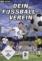 PC CD-ROM + Dein Fussballverein + Fussball + Verein + Mannschaft + Vista