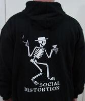 Social Distortion SWEATSHIRT kbd punk nofx  pullover