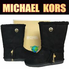 MICHAEL KORS GIRLS SIZE 2Y PAMINA WINTER BOOTS BLACK