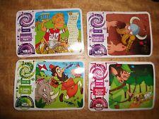 YO YO BEAR'S TIME TRAVEL ADVENTURE TRADING  CARDS NO.S 9,20,22 AND 24