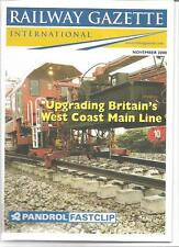 Railway Gazette International magazine- November2000 DH