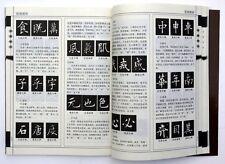 Chinese calligraphy book learn Ouyang Xun kaishu(regular script) advanced art