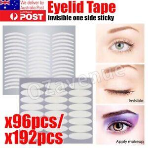 96/ 192pcs Eyelid Tape Adhesive Eye Lift Strips Stickers Double AU POST