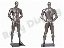 Fiberglass Male Display Mannequin Manequin Sport Dress Form #MC-BRADY05