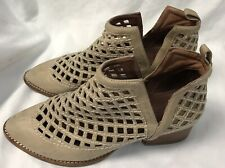 Jeffrey Campbell Taggart Leather Boots Booties Size 7.5