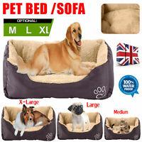 Luxury Puppy Dog Cat Pet Pillow Bed Cushion Home Soft Warm WaterProof pets Mat