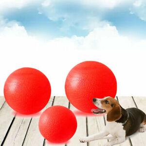 Indestructible Rubber Ball Pet Dog Training Chew Play Smtp Bite Fetch Toy J1J3