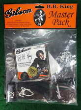 B.B. BB KING GUITAR STRAP STRINGS PICKS GIBSON MASTER PACK #12