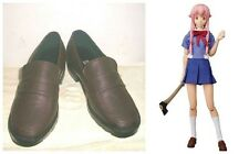 The Future Diary Gasai Yuno Mirai Nikki Cosplay Boots Boot Shoes Shoe UK