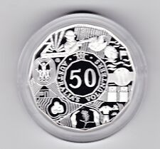 2003 SILVER Proof 50 Cent Volunteers Coin Australia ex Fine Silver Set