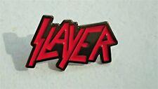 SLAYER enamel pin badge REIGNIN BLOOD thrash metal rock music gift hell UK STOCK