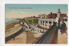 North Shore Promenade Blackpool 1929 Postcard 194b