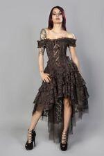 Vestiti da donna corsetto marrone party