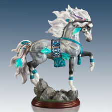 Cloud Dancer Spirit of the Painted Pony Horse Figurine Bradford Exchange