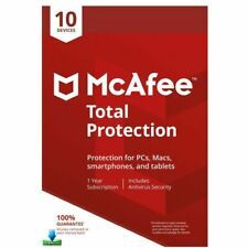 McAfee Total Protection 2016 Antivirus/Internet Security