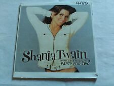 1 TRACK PROMO CD SHANIA TWAIN - PARTY FOR TWO - MERCURYS SPAIN 2004 VG+