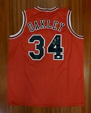 Charles Oakley Autographed Signed Jersey Chicago Bulls JSA