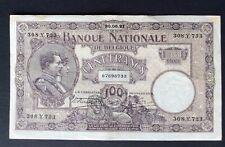 Belgique - Près de Superbe billet de 100 Francs du 30-06-1921 - Crispy