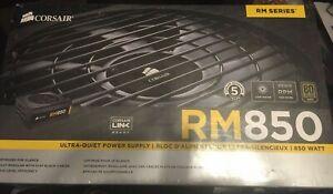 Corsair RM850 CP-9020196-NA 850W80+ Gold ATX Power Supply - FACTORY SEALED