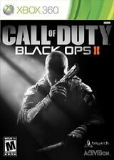Call of Duty Black Ops 2 II Xbox 360 Brand New Sealed