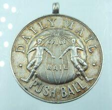 More details for vintage sterling silver fob medal pushball push ball newark 1932 j. watson