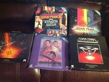 Star Trek Laser Video Disc Lot - 25th Anniversary + 4 More